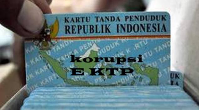 Korupsi E KTP pun ada tahapanya